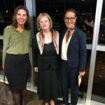 Da esq. para a dir., Maria Cristina Capanema Thomaz Belmonte, Rosa Weber e Luciana Lóssio