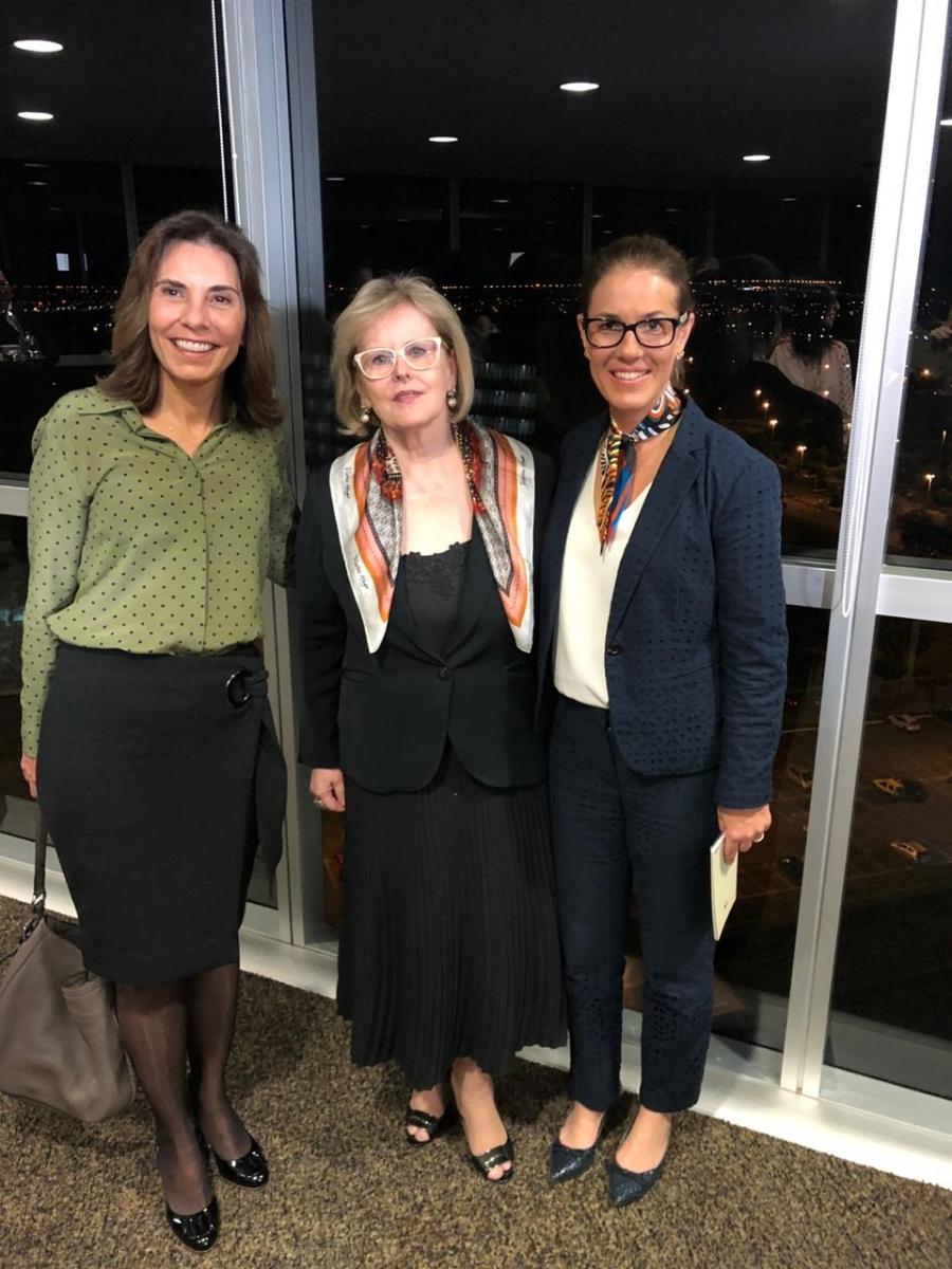 Luciana Lóssio exalta iniciativa do TSE 'rumo à igualdade de oportunidades entre homens e mulheres'