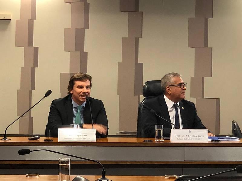 Dr. Pedro Capanema representa a FIRJAN em 12/02, para debater a Medida Provisória Nº 905, de 2019