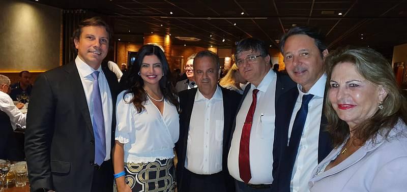 Dr. Pedro Capanema participou do jantar de posse do novo Ministro do Desenvolvimento Regional, Rogério Marinho